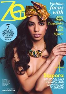 Cover Zen magazine Model: Sippora Jack