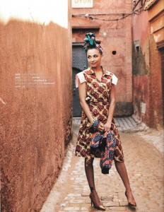 Publication: Linda fashion magazine SS 2015 ( Nomi dress ) Georgina Verbaan